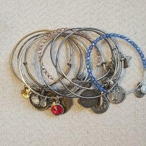 Alex & Ani Bracelets Bundle of 11